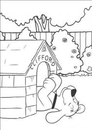clifford big red dog pictures color coloring pages