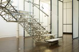 Contemporary Handrails Interior Adorable Staircase Decoration With Steel Staircase Design