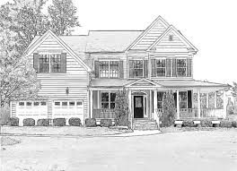 houses drawings portraits online