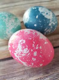 Easter Egg Decorating Ideas With Shaving Cream by How To Marble Easter Eggs With Oil Crafty Morning