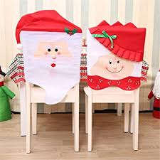 christmas chair back covers 17 3 w christmas chair back covers kitchen chair slip