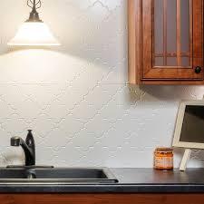 fasade kitchen backsplash panels fasade monaco gloss white backsplash panel free shipping on