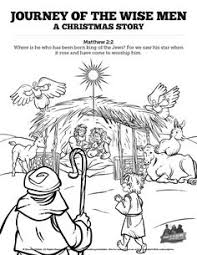 sunday christmas bible coloring pages sunbeams