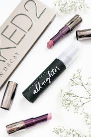 decay all nighter makeup setting spray beauty and the chic