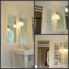 Antique Bathroom Medicine Cabinets - diy mirrored medicine cabinet designs appalling family room