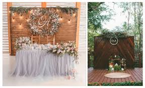 wedding backdrop initials 10 gorgeous designs los cabo wedding backdrop
