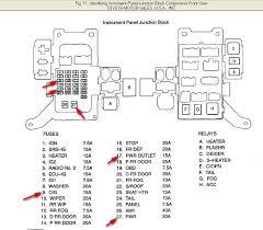 2013 toyota highlander fuse box diagram diagram wiring diagrams