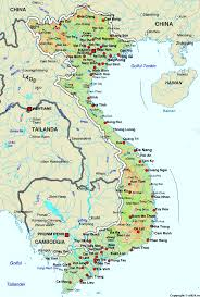 Country Flags Of The World Of Vietnam Maps Worl Atlas Vietnam Map Online Maps Maps Of