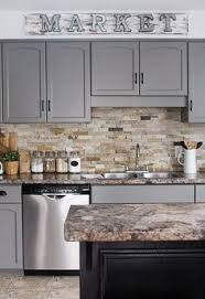 paint kitchen ideas diy kitchen makeover on a budget before and after giani granite