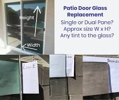 Patio Door Replacement Glass Can You Replace Patio Door Glass The Same Day