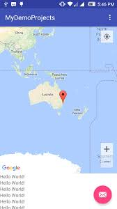 Australia Google Maps Android Development Parallax Effect On Google Map Like In Uber