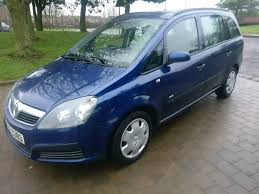 Bargain To by 2007 Vauxhall Zafira 1 6 Petrol 7 Seater Bargain To Clear