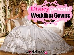 princess style wedding dresses 5 disney princess inspired wedding dresses to transform you into a