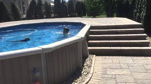Wrap Around Deck Above Ground Pool Wrap Around Pool Deck Macomb Michigan Youtube