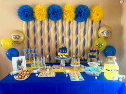 minion birthday party ideas minions despicable me birthday party ideas themed birthday ideas