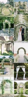 wedding arch greenery flowers archives oh best day