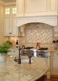 white kitchen with brown granite countertops google search