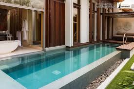 Cool Pool Houses Enticing Architecture Cool Swimming Pool Design With Gray Stone