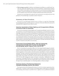 Construction Estimating Certification by Chapter 2 Best Practices For Estimating Construction Costs