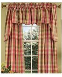 Country Curtains Amazing Deal On Country Curtains Moire Plaid Princess Swag