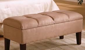 White Bed Bench Storage Bench Upholstered Bench With Storage Stunning Storage Bench