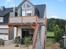 carport mit balkon referenzen beispiele feise holzbau gmbh