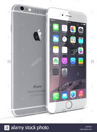 The Home Technology Store Apple Silver Iphone 6 Plus Showing The Home Screen With Ios 8
