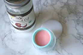 a diy coconut oil lip balm that literally anyone can whip up at home