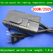 transparent black dimmer switch with wire 1 8 m adjustment