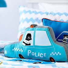 police car cushion