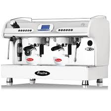 Nisbets by Fracino Pid Espresso Coffee Machine 2 Group White Pid2 Ge944