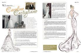 wedding journal in the press wedding journal designer feature caroline castigliano