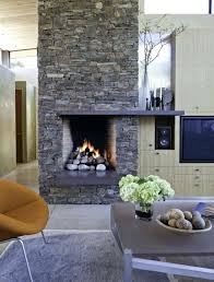 amusing modern fireplace stone for your small home remodel ideas