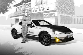 toyota gt86 the toyota gt86 initial d concept is an awesome car based manga