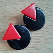 80s earrings coffin kitsch those 80s earrings
