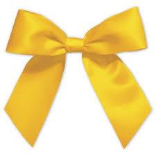 pre bows gold pre satin bows 7 8 x 3 bags bows
