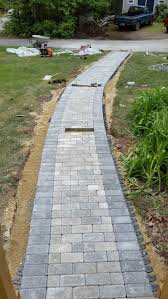 Patio Interlocking Pavers Paver Walkway You Can Add Paving Stones You Can Add Concrete