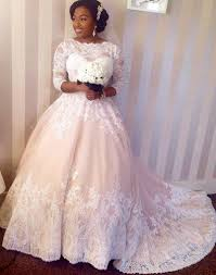 sleeve lace plus size wedding dress vestidos de novia lace wedding dresses plus size half sleeves