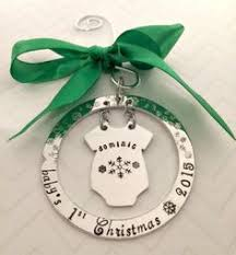 Custom Baby Ornaments Family Christmas Ornament Christmas Presents Personalized