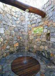 Outdoor Exposed Shower Faucet Bathroom Traditional Style Outdoor Shower Design Using Round
