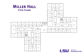 Dormitory Floor Plans by Miller Hall