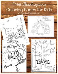 free thanksgiving coloring pages frugal adventures