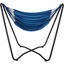 Brazil Hammock Chair Sunnydaze Hanging Hammock Chair Swing With Space Saving Stand
