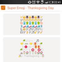 thanksgiving emoji express divascuisine
