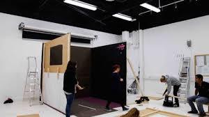 set design studio project at falmouth university ba photography