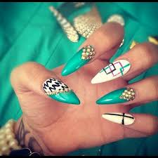 30 cool acrylic nail designs