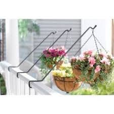 Rail Hanging Planters by Set Of 2 Large Adjustable Deck Railing Planters No Planter Where