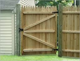 Backyard Gate Ideas Wood Fence Designs Ideas Attractive Designs Alqueva Dark Sky