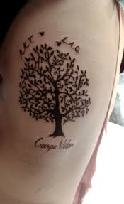 inspirational tattoos tree of meaning tat