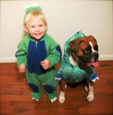 halloween costume for baby boy adorable boy and his dog coordinate halloween costumes every year